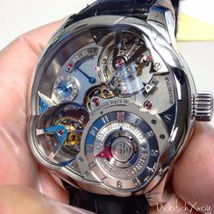 Invention Piece 2 by Greubel Forsey..