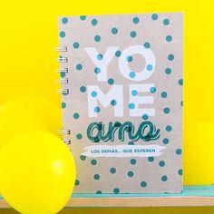 Cuaderno #yomeamo para recordar siempre lo valiosa que eres. Pedidos por Direct…