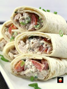 These little wraps are great for parties, lunches, suppers, or any , Ranch Chicken Salad Wrap Spend W. Chicken Wraps, Chicken Bacon, Rotisserie Chicken, Chicken Recipes, Turkey Bacon, Chicken Salads, Chicken Burritos, Ranch Chicken, Chicken Alfredo