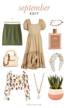 Click the item in the image to go directly to the product page September Edit: Desert Hues I can't believe we're already halfway through September, but here we are. And September's Edit theme is all about desert hues! By that, I mean embracing dusty, muted hues. Think beige with a pop of green, florals, and […]