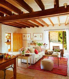 A rusztikus stílusú otthon sajátosságai