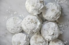"""""""Mexican Wedding cakes"""" traditional Christmas cookies in our home~ Image © The Parsley Thief (great site for recipes). Mexican Wedding Cake Cookies, Traditional Christmas Cookies, Russian Tea Cake, Greek Sweets, Greek Wedding, Christmas Mom, Cupcake Cookies, Cupcakes, Love Cake"""