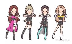"""Kill This Love"" - Blackpink South Korean Girls, Korean Girl Groups, Fan Art, Kpop Drawings, Kim Jisoo, Black Pink Kpop, Jennie, Blackpink Photos, Blackpink Fashion"