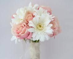 Image result for gerbera daisy roses bridesmaids bouquets