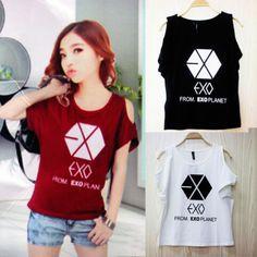 kpop-exo-overdose-exoluxion-chanyeol-sehun-do-kai-kpop-wholesales-tee-chen-lay