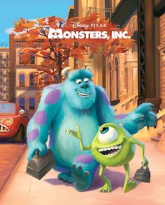 Monsters, Inc. Big Golden Book (Disney/Pixar Monsters, Inc. Monsters Inc Movie, Disney Monsters, Walt Disney, Disney Pixar, Disney Jr, Pixar Movies, Disney Movies, Mike And Sulley, Monster Inc Party