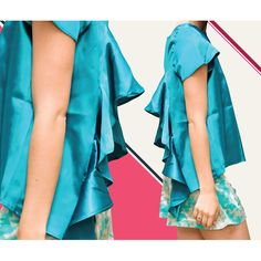 ¡Turquesa, turquesa: Nos encanta este color para vestirse! ¡Es alegre, brillante y puedes usarlo para la noche o para el día con un outfit como este!  Turquoise, turquoise: We love this color for clothes! It's happy, vibrant, and great to wear it for a night out, or during the day with an outfit like this one!