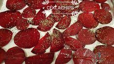 Sült cékla chips! Nagyon egyszerű, gyors és szuper egészséges! #céklachips #cékla Cake Recipes, Chips, Blog, Easy Cake Recipes, Potato Chip, Blogging, Potato Chips, Cake Tutorial