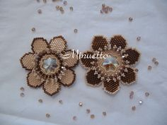 Free Flower Beading Pattern featured in Bead-Patterns.com Newsletter!