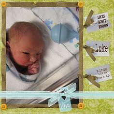 baby my-scrapbook-pages