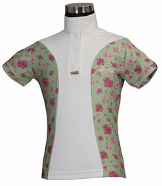 Equine Couture Children's Bindia Short Sleeve Technical Show Shirt