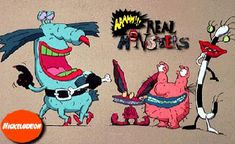AAAHH!!! Real Monsters i used to watch this with Travis when he was little!