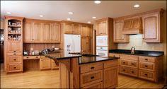 oak kitchen cabinets | Milwaukee Custom Kitchen Cabinetry | Wisconsin Custom Designed ...