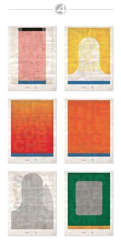 Poster Project: The Flat Seriesby Jeremy Brunet