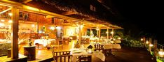 The Divine House by night: fine dining paradise...  La Divine House et son restaurant: paradis gastronomique...  www.tsarakomba.com Archipelago, Madagascar, Paradis, Restaurant Bar, Island, Beautiful, Luxury, Beach, The Beach