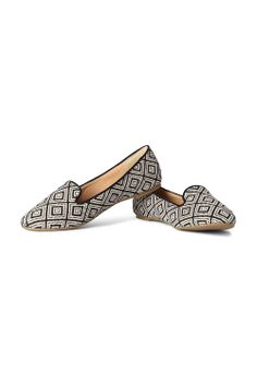 Van Heusen Woman Shoes, Woven Printed Summer Loafers for women at Trendin.com
