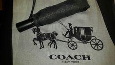 Sombrilla y Pasmina #coach