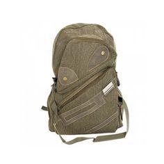 Fashionable Men Travelling Canvas Backpack Bag #aioutlet