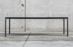 Il tavolo in cemento Boiacca