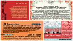 The Most Exciting Music Festival Lineups Of 2016: True to their nature, some of the year's biggest music festivals have graciously dropped their lineups, and The Sherp cannot help but drool over the best ones. Universally popularmusic festivals – yes, the big guns such as Coachella, Primavera Sound, Governors Ball, Awakenings, to name a few, characteristically release their lineups and open their tickets …
