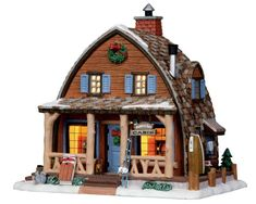 Make 2018 a year to remember with the latest Lemax holiday village collectables. Start a family Christmas tradition with Lemax Village Collection today! Lemax Christmas Village, Lemax Village, Christmas Town, Christmas Villages, Christmas Things, Villas, Vail Village, Minecraft, Christmas Village Collections