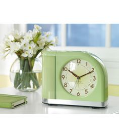 Wake up to a gentle beam of light with the Moon Beam Alarm Clock from LL Bean...