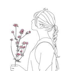 その世界観に引き込まれてしまう。ハイセンスすぎる4人のイラストレーターに注目 MERY [メリー] Girls Cuts, Illustration Girl, Zine, Cinderella, Simple, Flowers, Pictures, Profile, Icons