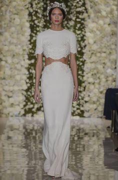 15 Unconventional Wedding Dresses from Bridal Fashion Week  - TownandCountryMag.com