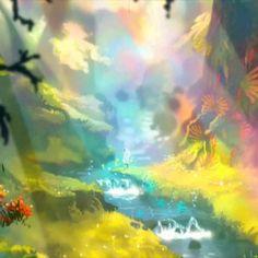 """1,002 mentions J'aime, 14 commentaires - ARTE (@artefr) sur Instagram: """"Dans ces cinq images, la Créature se perd dans des mondes peints à l'aquarelle. Arrivera-t-elle à…"""" La Danse Macabre, Videogames, Northern Lights, Images, Play, Nature, Travel, Instagram, Painting With Watercolors"""