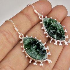 Items for sale by jewelexi 925 Silver, Dangle Earrings, Dangles, Gemstones, Green, Ebay, Jewelry, Jewellery Making