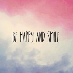 be happy face :)