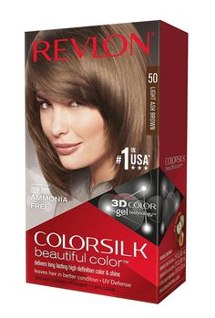 Revlon Colorsilk Haircolor Light Ash Brown -- You can find more details by visiting the image link. #hairup