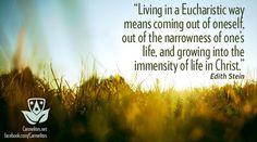 Saint Teresa Benedicta of the Cross (aka Edith Stein) quote
