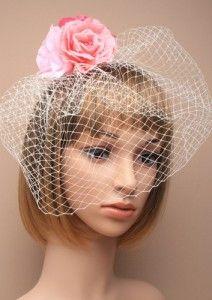 #rose #net #headpiece #millinery #bulk #trade #fascinator IncaUK.com