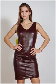 Lederkleid aus Nappaleder - Etuikleider, superweich, versch. Farben + Größen | eBay