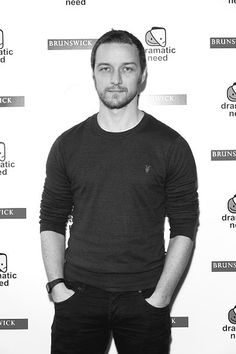 JAMES MCAVOY AT THE ROYAL COURT THEATRE FOR THE CHILDREN'S MONOLOGUES SUNDAY OCTOBER 25, 2015