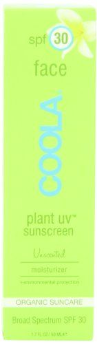 Coola Plant UV Face SPF 30 Sunscreen, Unscented