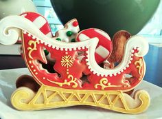 Santa's sleigh | Cookie Connection