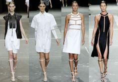 Alexander Wang minimalista, futurista e tribal ao mesmo tempo - neo tribal?