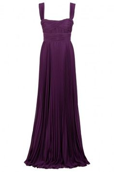 Elie Saab pleated Gown (purple) - that's almost exactly what i was looking for!