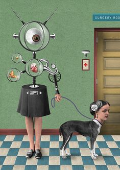 Surreal and Bizarre Sci-Fi Collages by Randy Mora