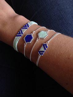 artistic-bracelet-hexagona-alpha-bleu-menthe