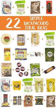 This is an awesome list of simple backpacking food ideas using items from Trader Joe's! via @freshoffthegrid #canoepackingideas