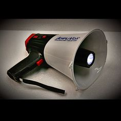 The Safety Strobe Megaphone offers multiple personal safety for you and your family. Being #NatlPrep month, this particular megaphone allows you to extend your voice just as far as its flashlight feature for #emergency situations! For more of this products great features, please go to ampli.com! #Beprepared #Prepared2014 #Readygov #preparedness #FEMA #PAsystem #safety #smallbiz #beheard