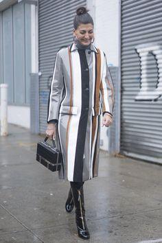 Pin for Later: Retour Sur les Meilleurs Looks Street Style de la Fashion Week de New York Jour 6