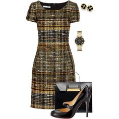 Untitled #595 by angela-vitello on Polyvore featuring polyvore, fashion, style, Oscar de la Renta, Christian Louboutin, Balenciaga and Marc by Marc Jacobs