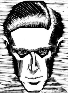 Self Portrait - M.C. Escher, 1919