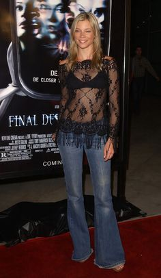 More Angles of Amy Smart Flare Jeans - StyleBistro