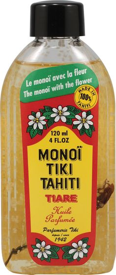Nice to use on the skin in the summer. Moisturizes your arms and legs and leaves a nice tropical scent.