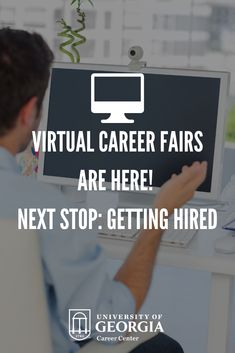 Career fairs are one of the most important ways to meet employers and get on their candidate list for internships and jobs. This year, employers are changing the way they meet and hire students. Virtual recruiting is taking center stage, and Handshake is the leading place where you'll be able to connect with employers at virtual career fairs and events. University Of Georgia, Center Stage, Head Start, Connect, Career, Students, Meet, How To Get, Events